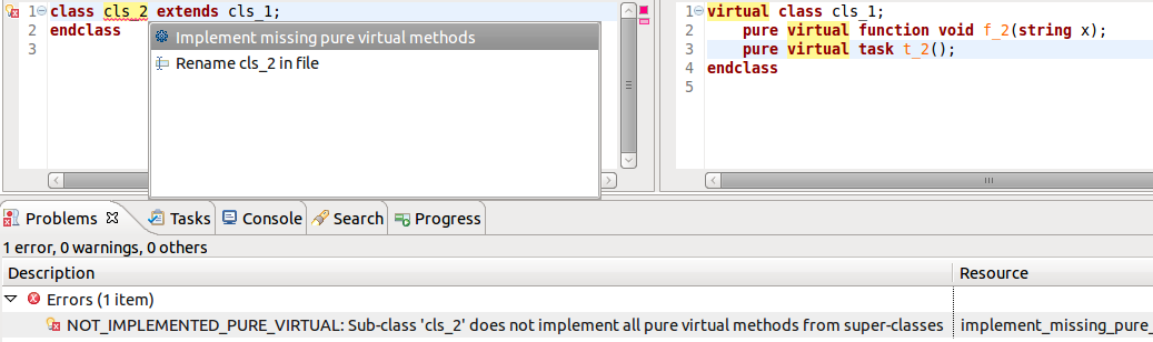 7 13 Implement Missing Pure Virtual Methods