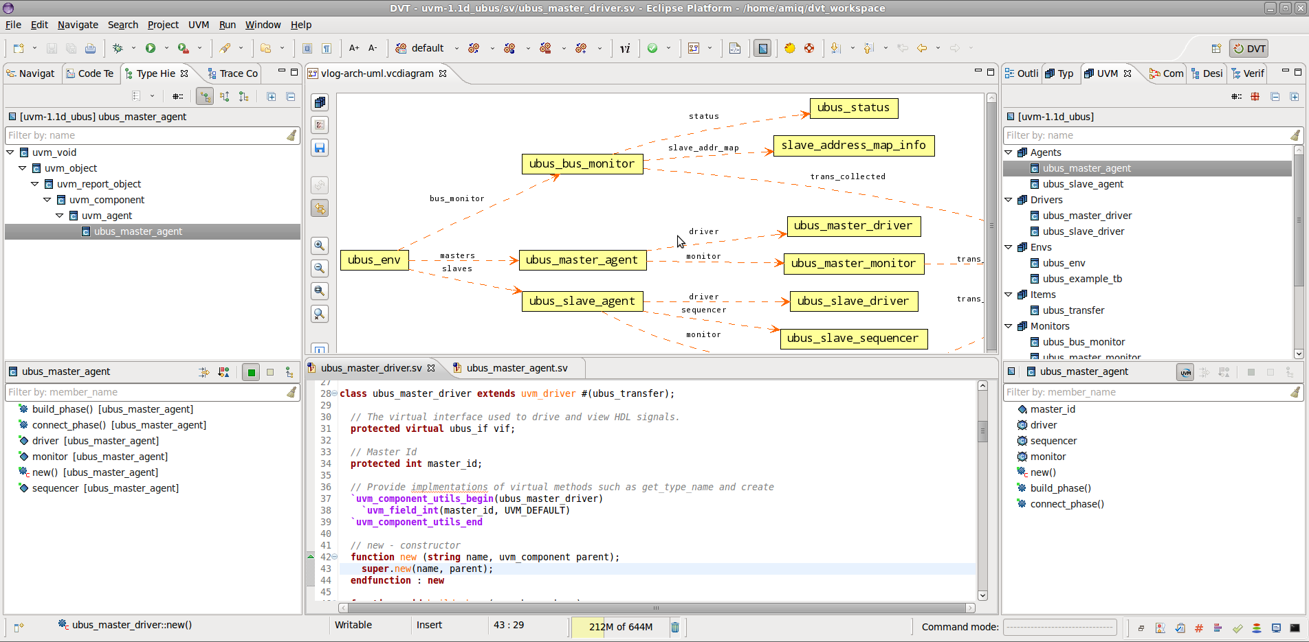 Explore an UVM-based Verification Environment with DVT Eclipse IDE